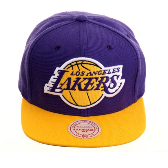 2cb6536e Mitchell & Ness Accessories | Los Angeles Lakers Snapback Hat ...